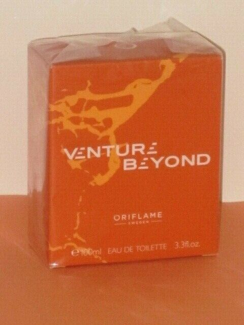 ORIFLAME SWEDEN VENTURE BEYOND (AROMATIC - FOUGERE) EDT SPRAY 100 ml NEW-SEALED!
