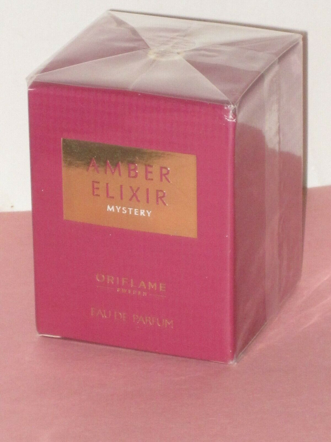 ORIFLAME SWEDEN AMBER ELIXIR MYSTERY (FLORAL/ORIENTAL/CITRUS) EDP SP. 50 ml.NEW!
