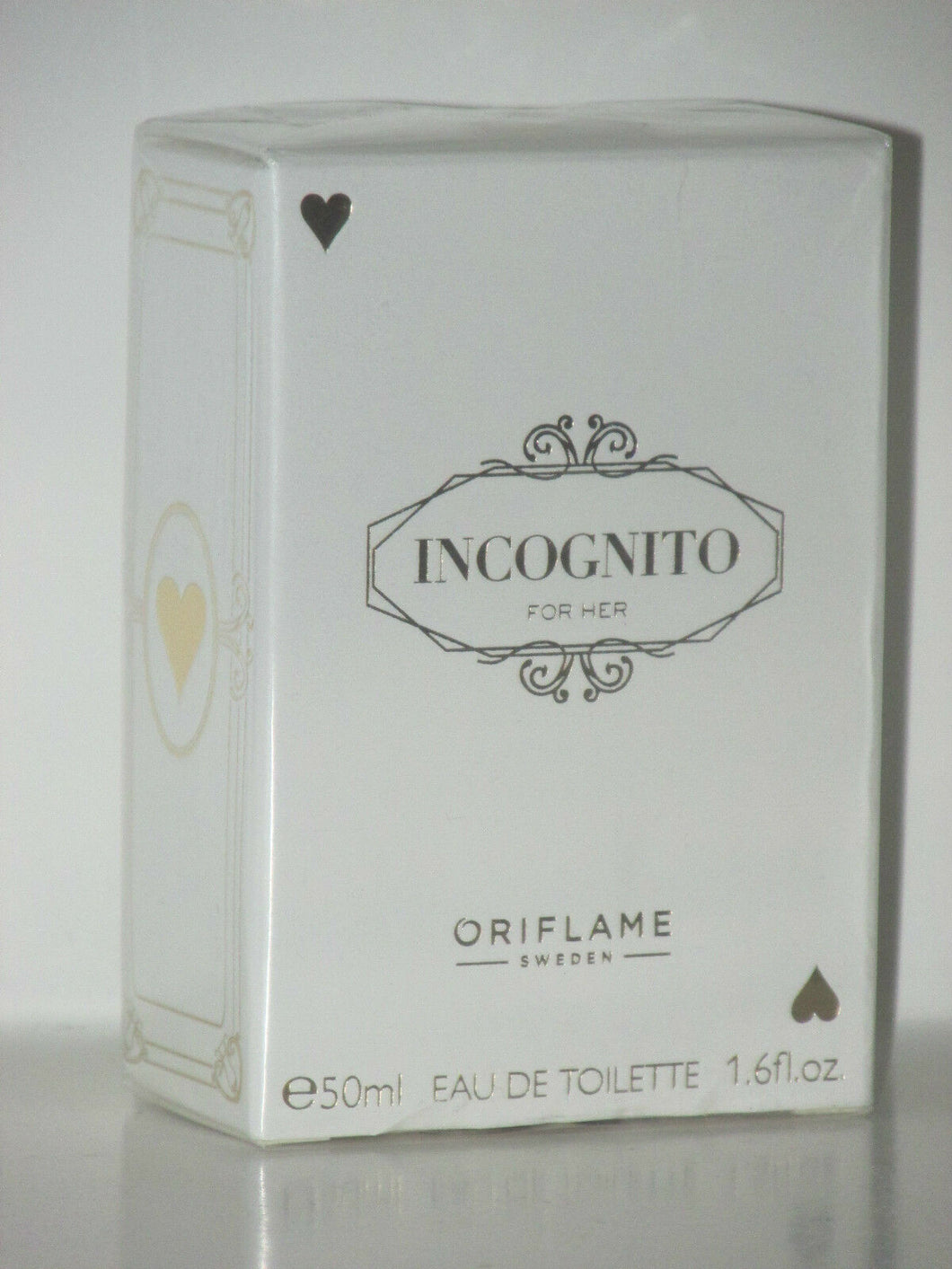 ORIFLAME SWEDEN INCOGNITO FOR HER (FRUITY/FLORAL) EDT SPRAY 50 ml. NEW -SEALED!