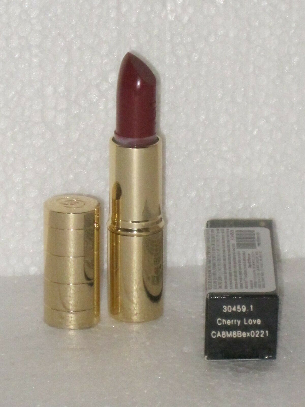 ORIFLAME SWEDEN GIORDANI GOLD ICONIC LIPSTICK SPF 15 # CHERRY LOVE 4 g.NEW