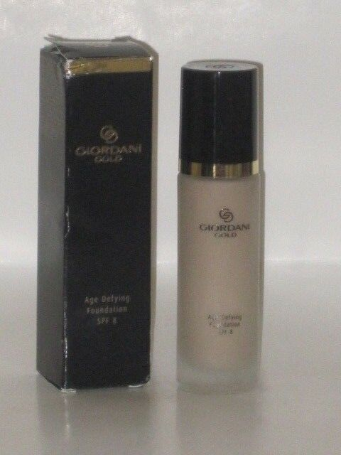 ORIFLAME SWEDEN GIORDANI GOLD AGE DEFYING FOUNDATION SPF 8-# NAT BEIGE 30ml NEW
