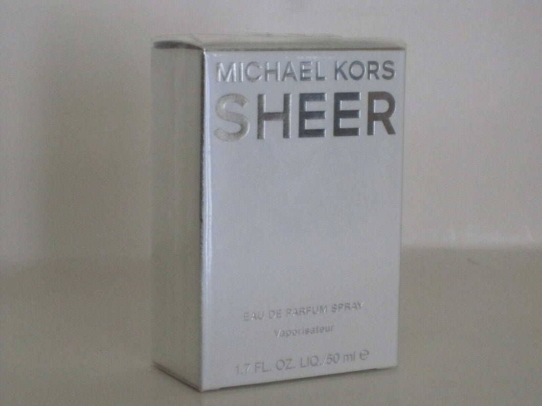 MICHAEL KORS SHEER FOR WOMEN EAU DE PARFUM SPRAY 50 ml./ 1.7 fl.oz. SEALED NEW !