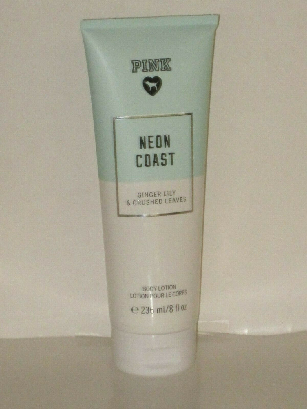 VICTORIA'S SECRET PINK NEON COAST (GINGER LILY & LEAVES) BODY LOTION 236ml NEW