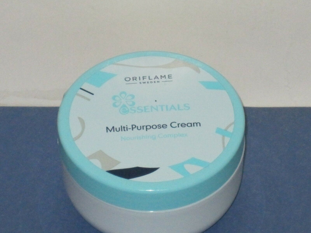 ORIFLAME SWEDEN ESSENTIALS MULTI-PURPOSE CREAM NOURISHING COMPLEX- 150 ml. NEW