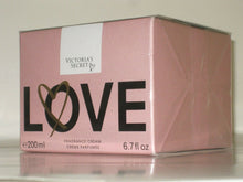 Load image into Gallery viewer, VICTORIA'S SECRET LOVE FRAGRANCE CREAM 200 ml./ 6.7 oz. SEALED BOX -NEW!