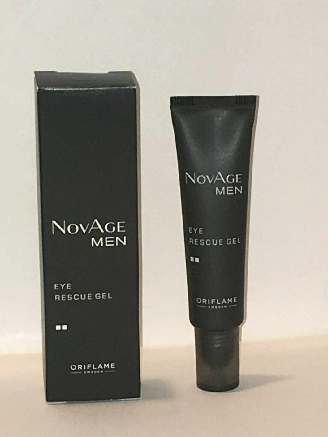 ORIFLAME SWEDEN NOVAGE MEN EYE RESCUE GEL 15 ml. NEW!
