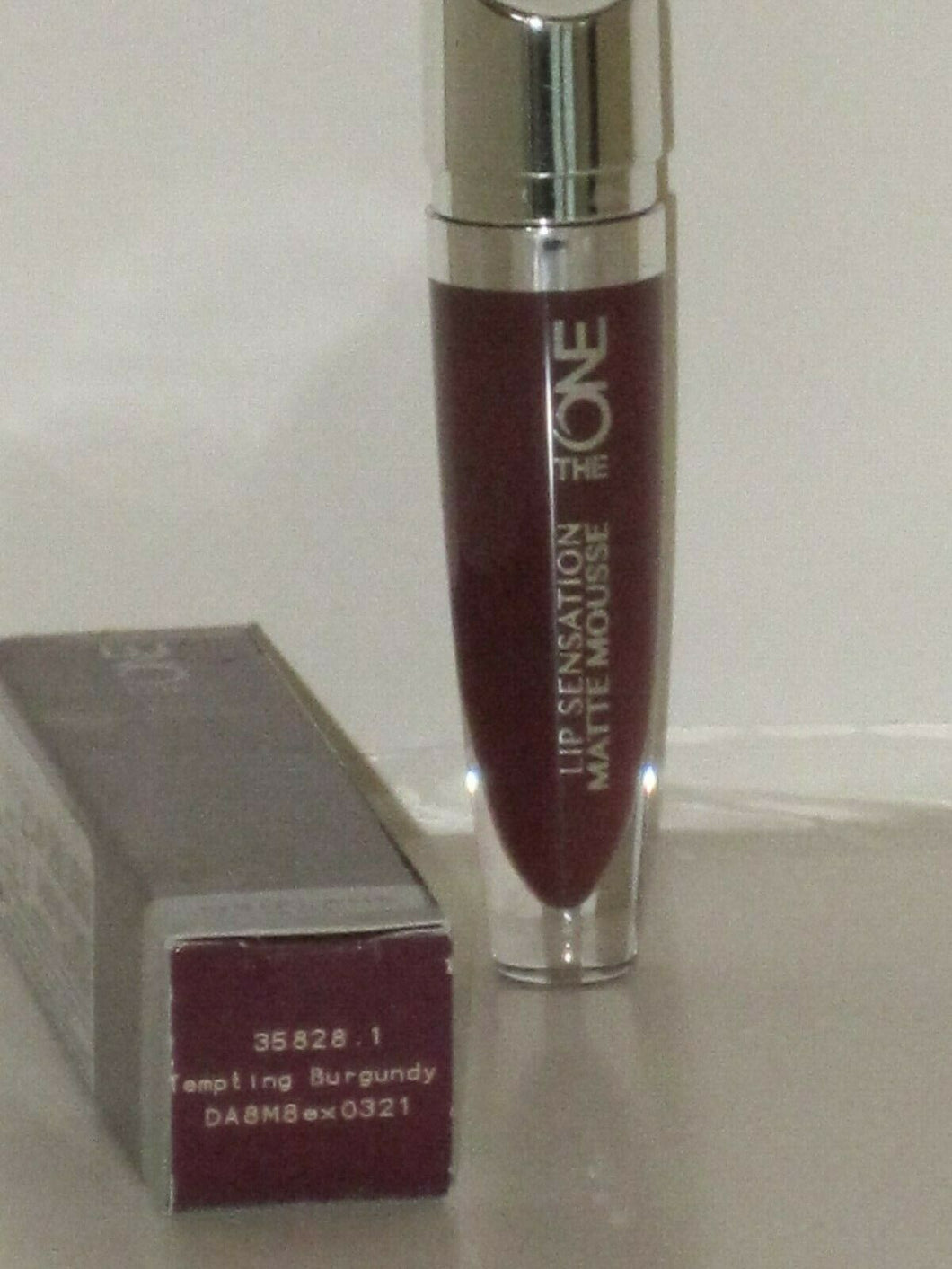ORIFLAME SWEDEN THE ONE LIP SENSATION MATTE MOUSSE LIP#TEMPTING BURGUNDY 5ml NEW