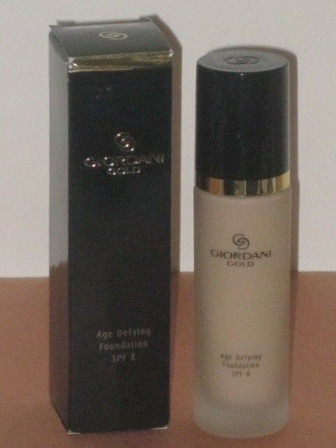 ORIFLAME SWEDEN GIORDANI GOLD AGE DEFYING FOUNDATION SPF 8-#BEIGE PINK 30ml NEW