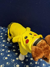 Load image into Gallery viewer, Dog Outfit - Pikachu Design Onesey in Yellow, 13 inches