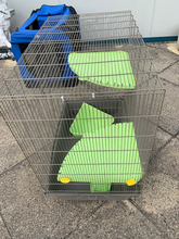 Load image into Gallery viewer, Small Animal Cage - Metal with plastic base, suitable for Chinchilla or Rat - COLLECTION ONLY