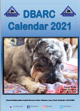 Load image into Gallery viewer, DBARC 2021 CALENDAR