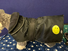 Load image into Gallery viewer, Dog Coat - All Weather Comfort Coat in Black, Size 18""