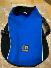 Load image into Gallery viewer, Dog Coat - Royal Blue with black lining, Small 12 inches & Large 18 inches