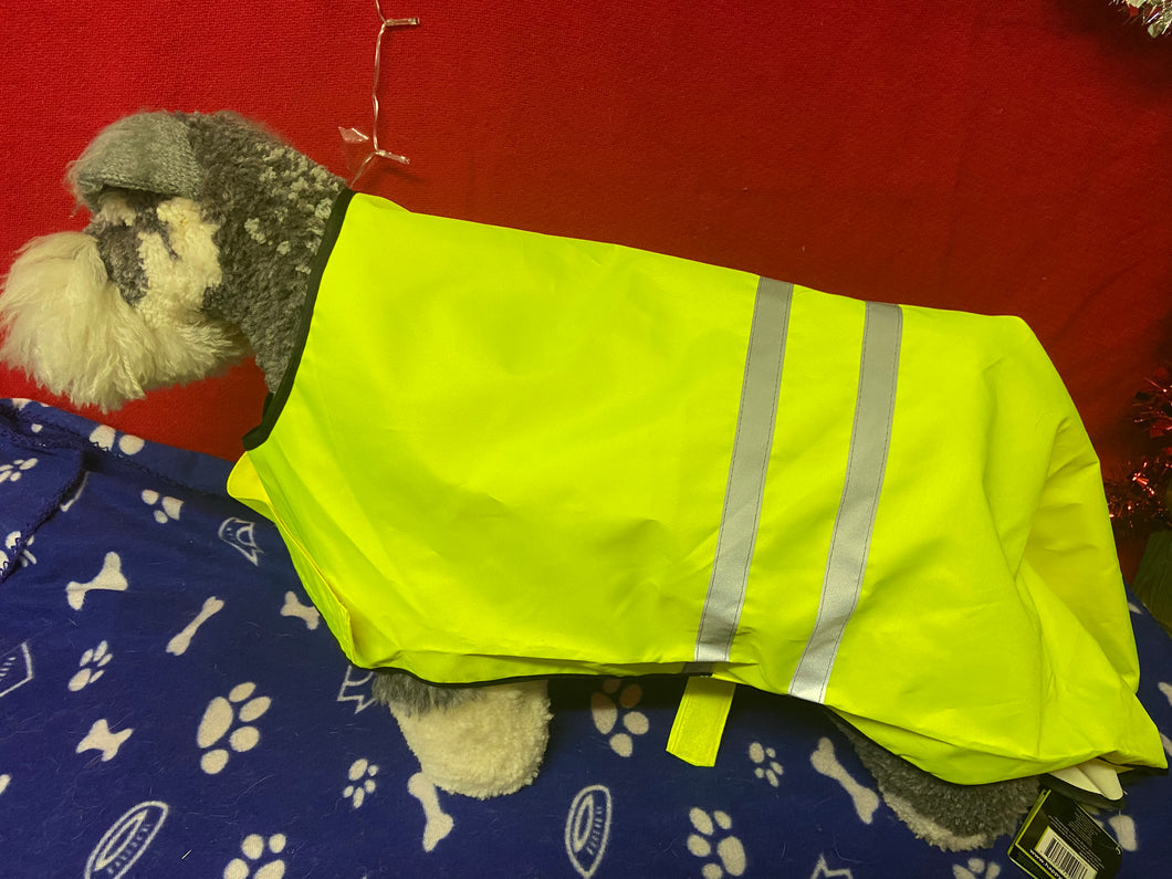 Dog Coat - Petgear High Visibility Jacket in Florscent Yellow