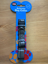Load image into Gallery viewer, Dog Collar & Lead Set, Reflective in Grey and Black, Size 2cm X 120cm