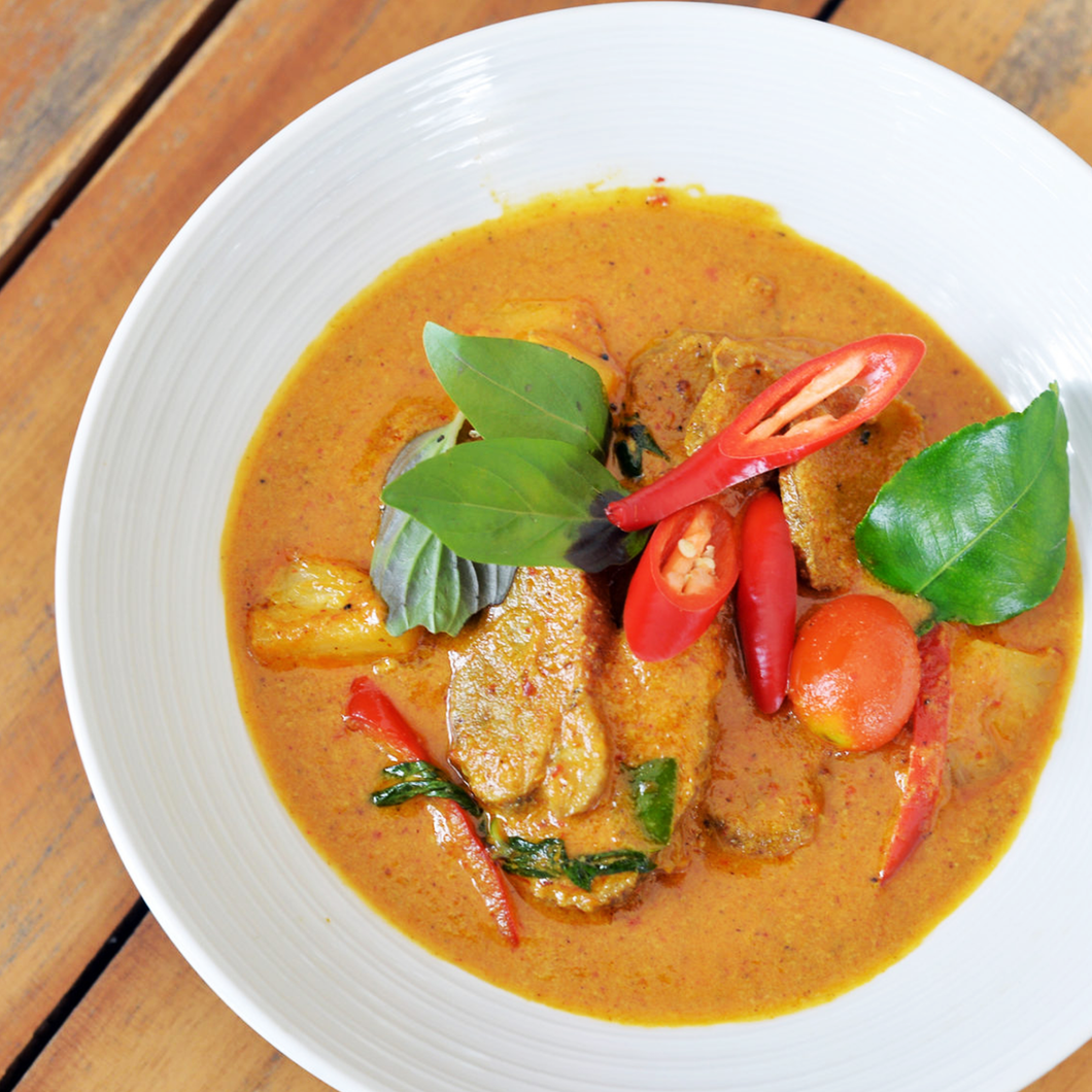 Red Curry Duck with Pineapple