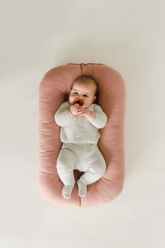 Snuggle Me Organic | Infant Lounger