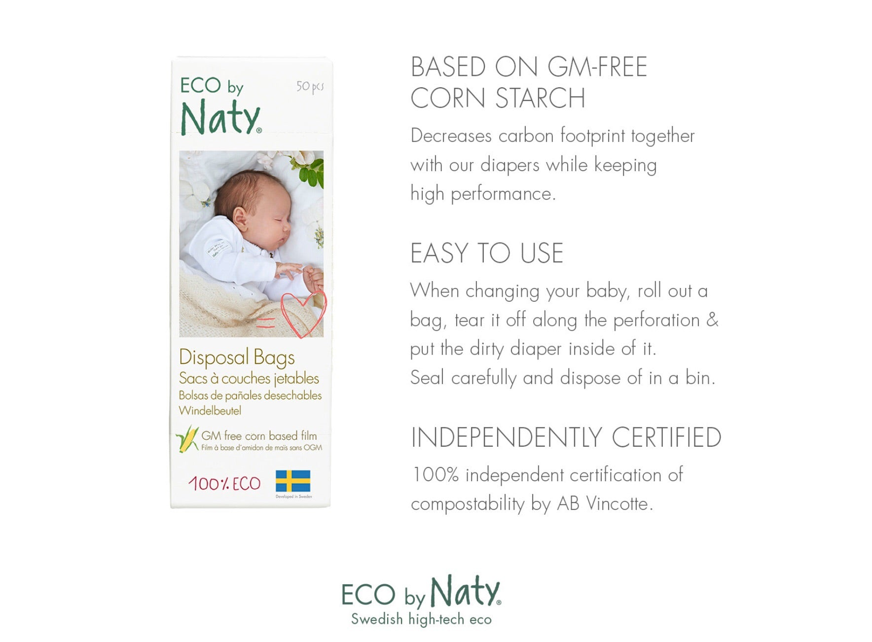 ECO by Naty | Disposable Bag