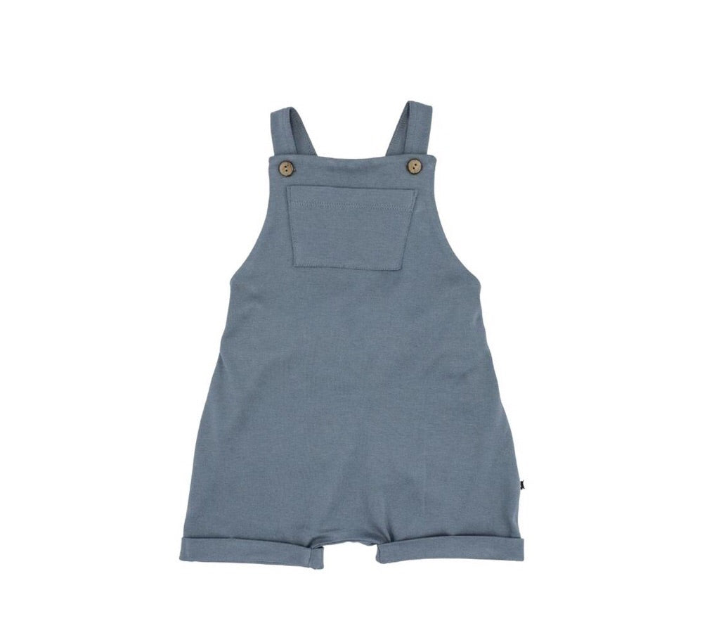 Little & Lively Shorts Overalls Slate