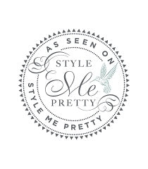 Style Me Pretty website and wedding blog