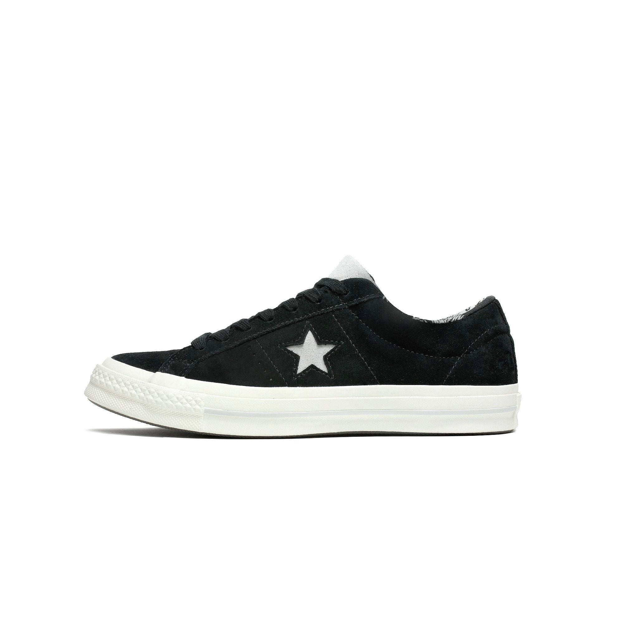 b5e9f46da86e Mens Converse One Star OX Black Mouse Egret 160584C