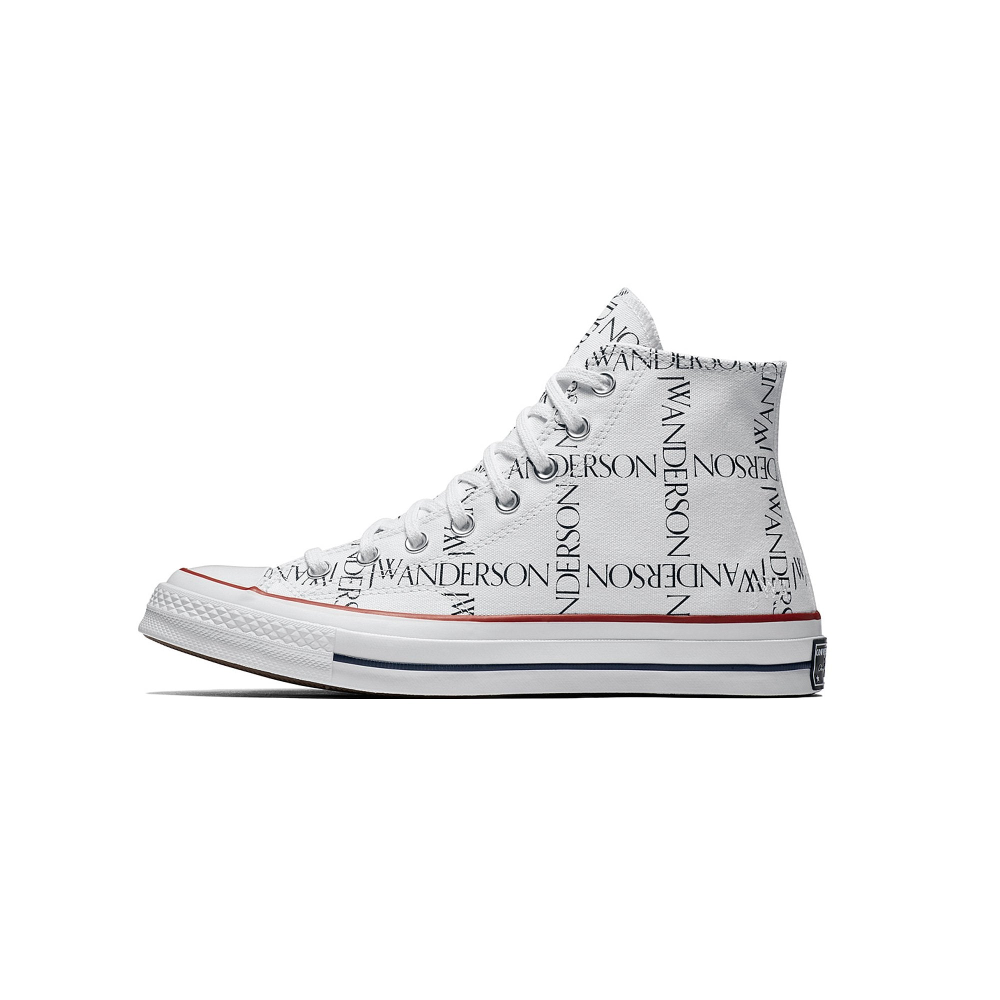 514be40d237c Details about Converse J.W. Anderson Chuck Taylor All Star 70 Hi Grid White  Black Red 160808C