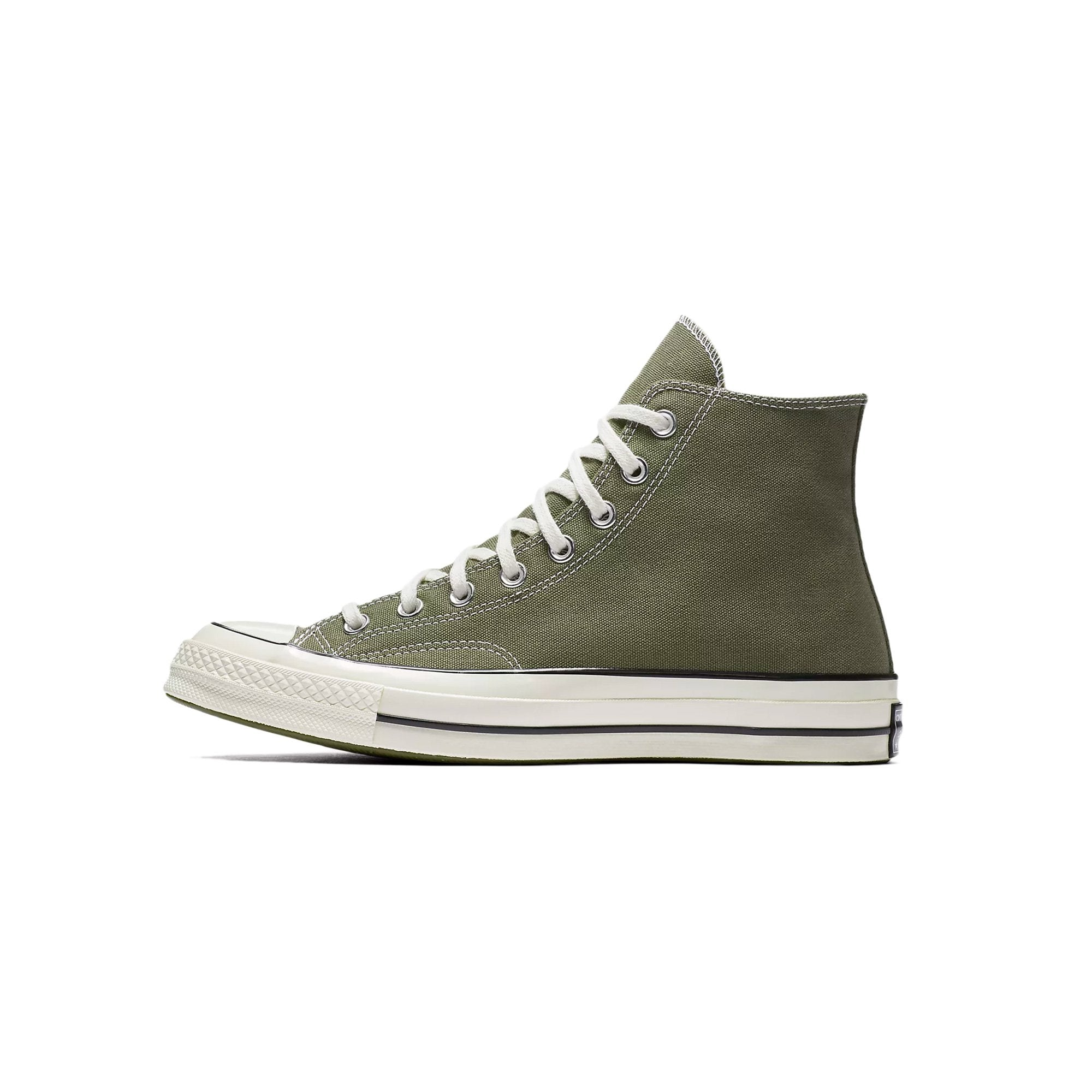 3ca92b4d39f9 Details about Converse Chuck Taylor All Star 70 High Top Field Surplus Green  White 162052C