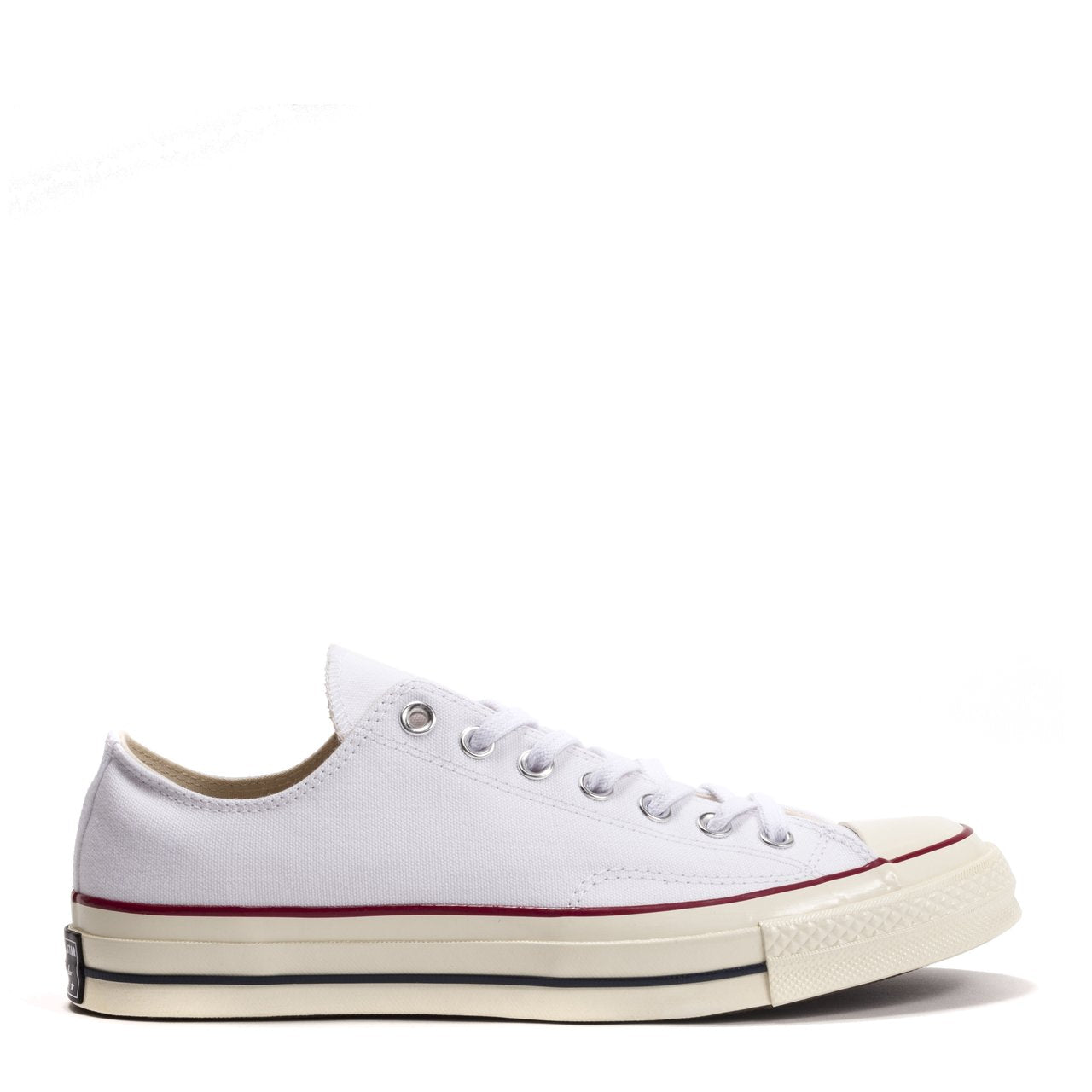 387c23e0706e Mens Converse Chuck Taylor All Star 70 Low Top White Garnet Egret 162065C