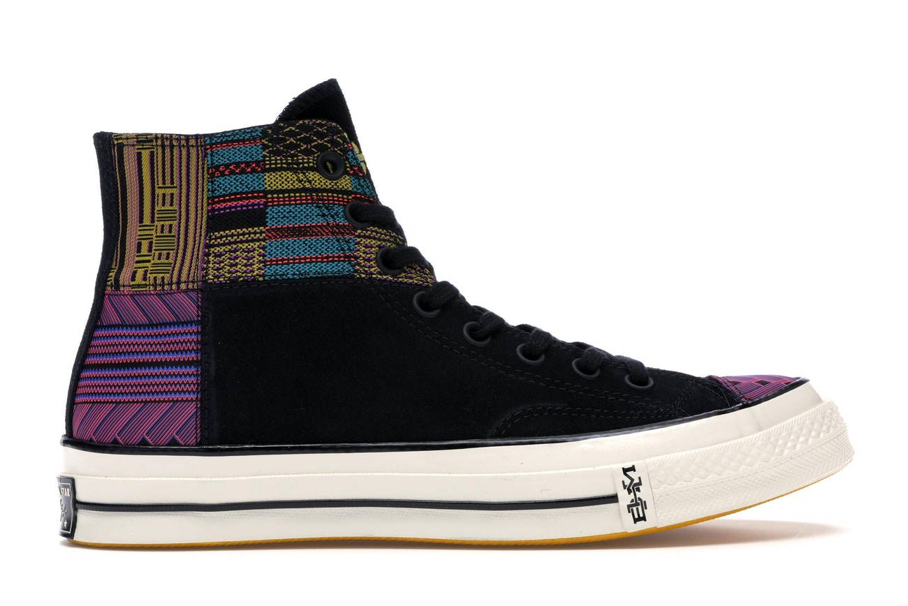 ff485eac0af3 Converse Chuck Taylor All Star 70 High Black History Month Black ...