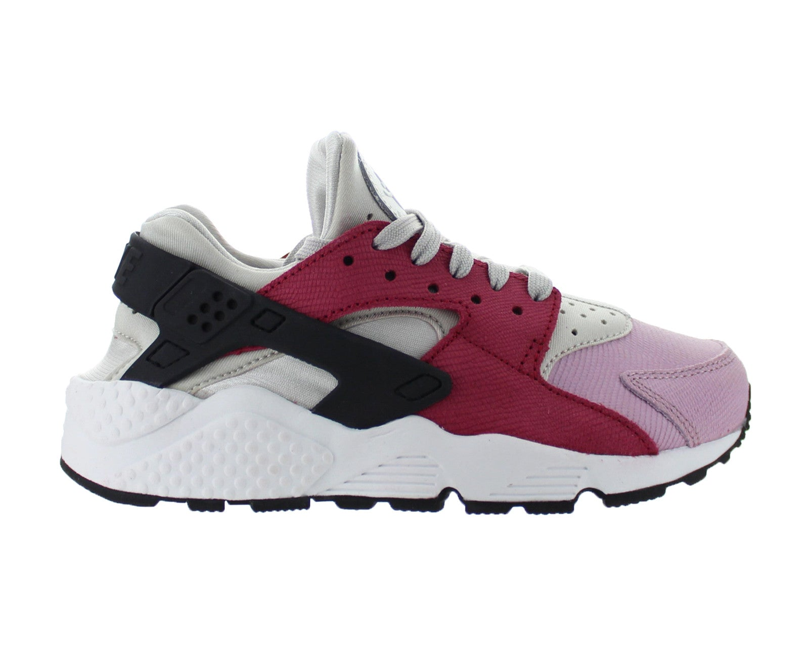 cheaper cc1cc 37951 Womens Nike Air Huarache Run Premium Light Bone Noble Red Plum Fog 683818- 006