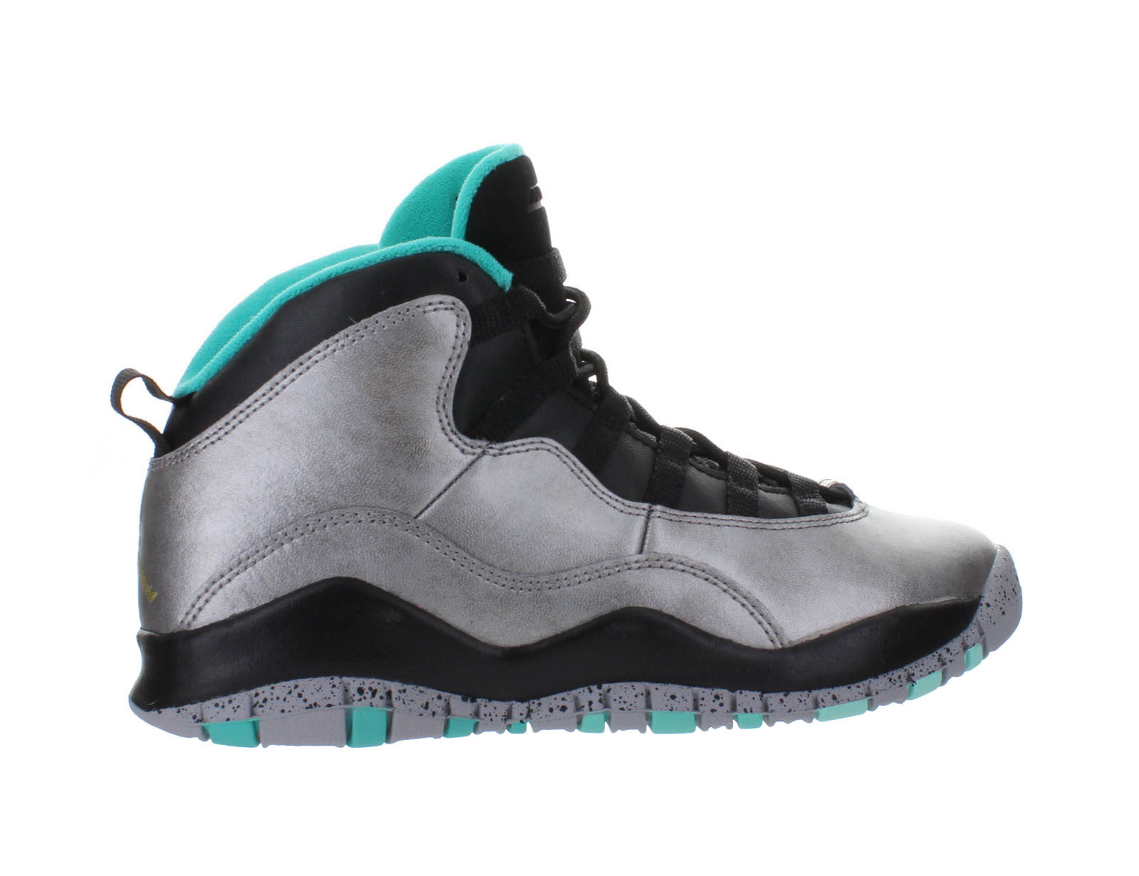 15a536c39e8 Kids Air Jordan Retro 10 X GS Lady Liberty Dust Black Metallic Gold  705179-045