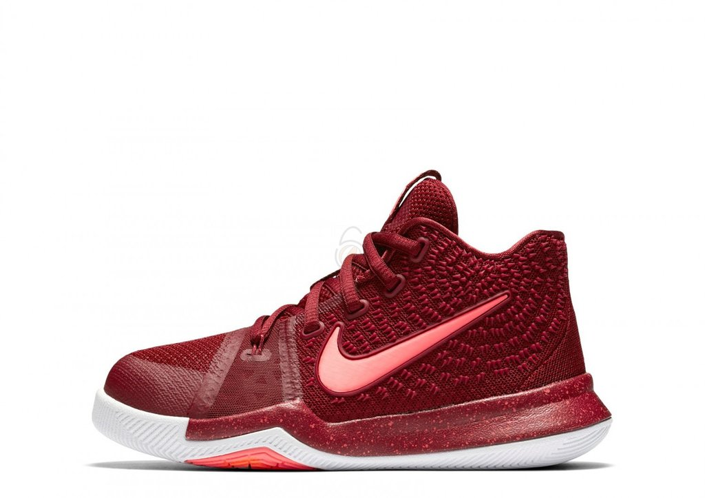 1fa4a4fd702d Details about Nike Kyrie 3 PS Hot Punch Team Red Total Crimson White Pink  Blast 869985-681