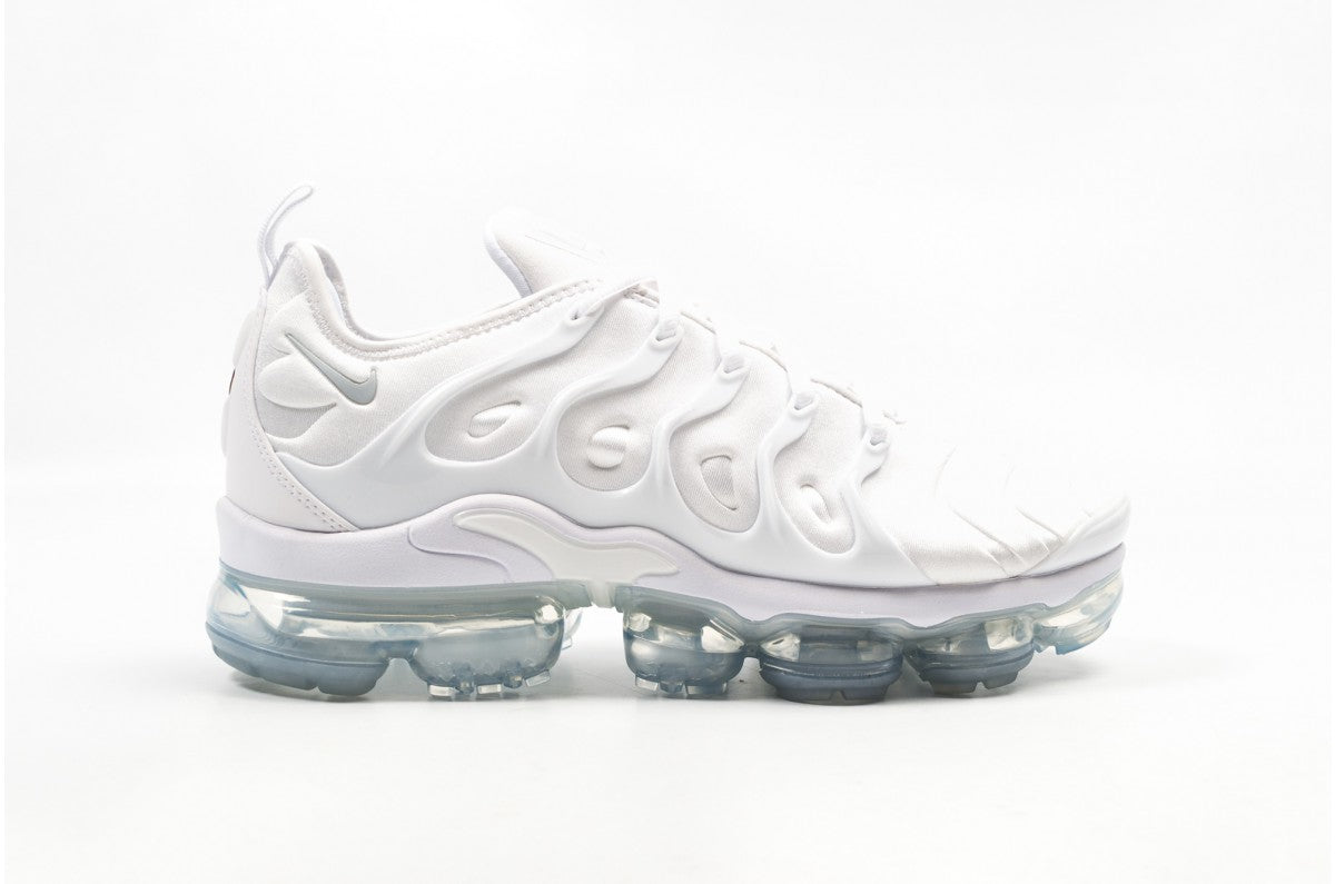 c64bde4487f Mens Nike Air Vapormax Plus Triple White Pure Platinum 924453-100