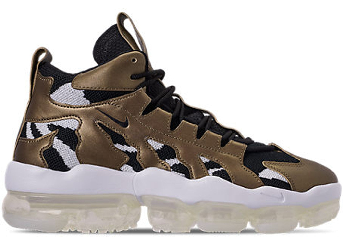 f9bb56de151 Mens Nike Air VaporMax Gliese Metallic Field Black White AO2445-900 ...
