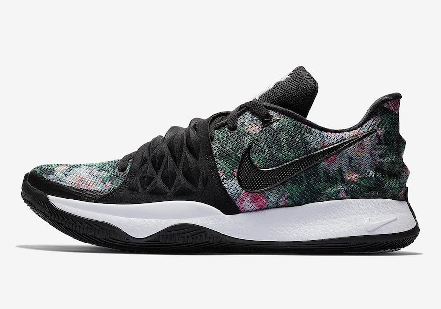 7dca0f87419 Mens Nike Kyrie 1 Low Floral Black AO8979-002