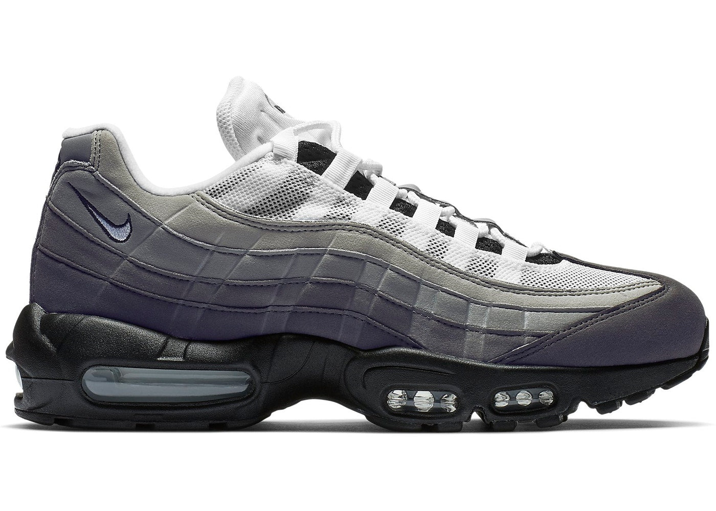 f8aba0a3e8ab39 Details about Mens Nike Air Max 95 OG Grey Gradient Black Anthracite  Granite White AT2865-003