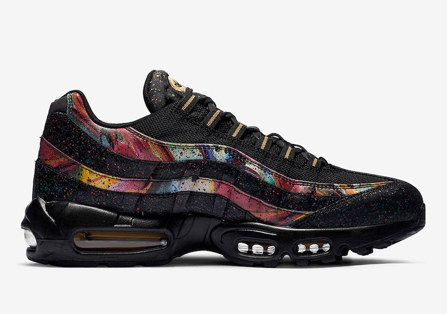 cheap for discount 99692 12b83 Air Max 95 Black And Gold