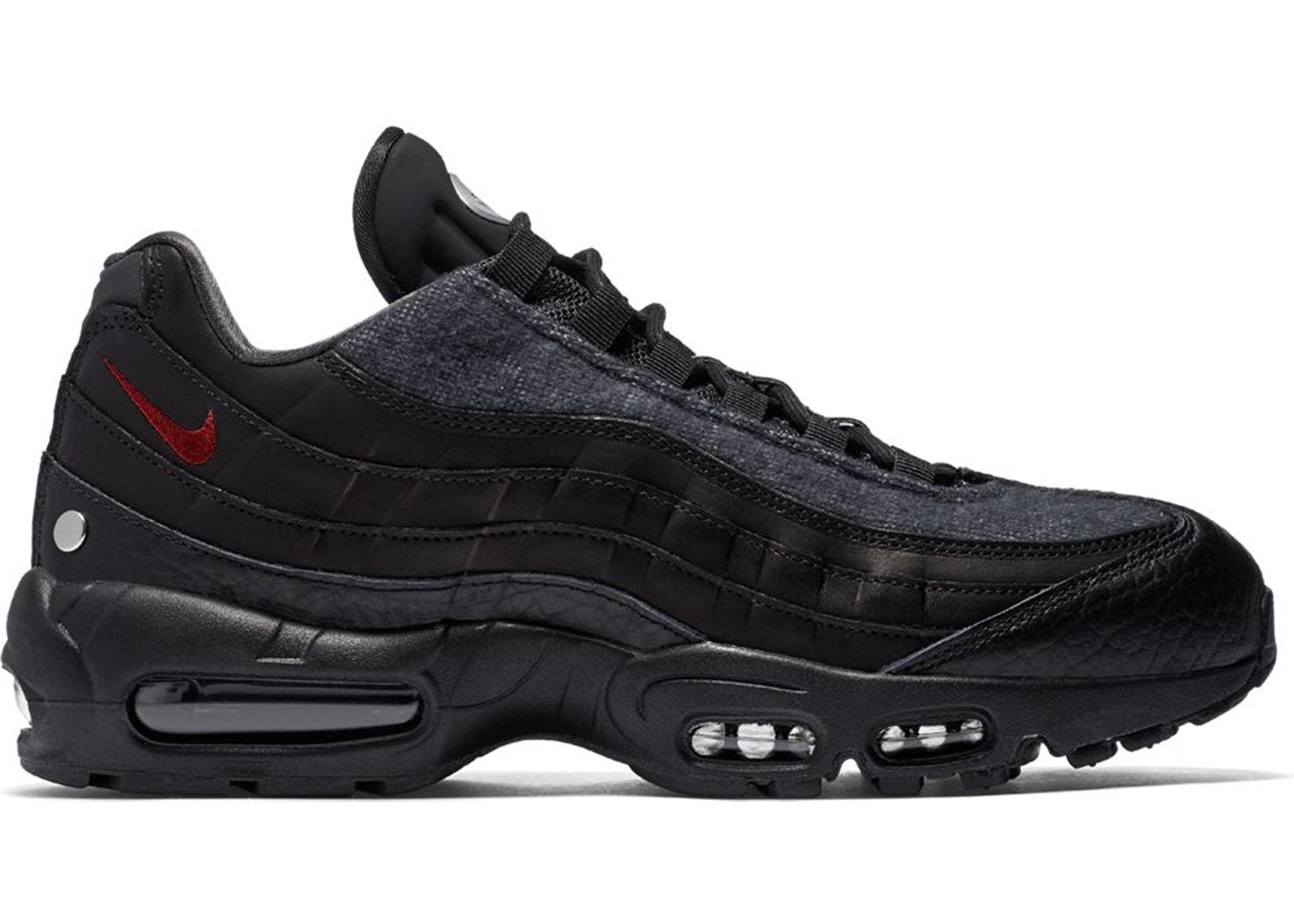 2c06b9c14c8a7b Mens Nike Air Max 95 NRG Jacket Pack Black Team Red Anthracite AT6146-001