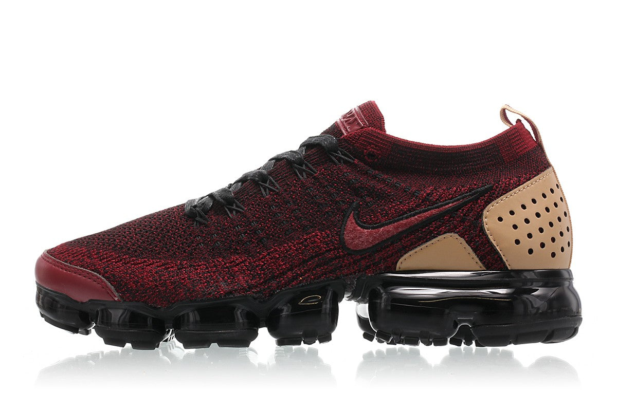 86b9e7f685 Details about Nike Air VaporMax Flyknit 2 NRG Jacket Pack Team Red Black  Tan AT8955-600