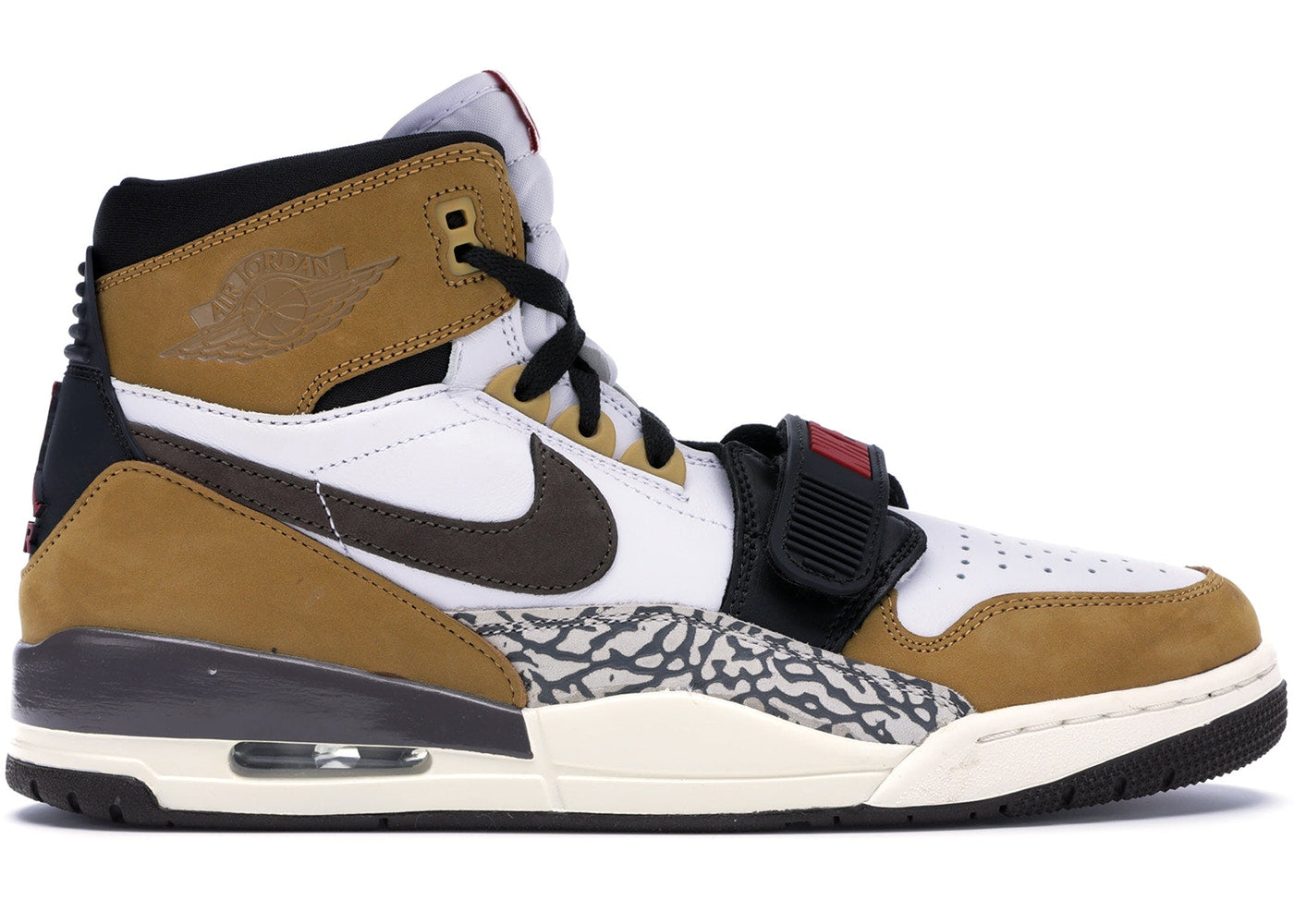 watch 4f806 4f032 Air Jordan Legacy 312 Rookie Of The Year White Brown Wheat Red AV3922-102