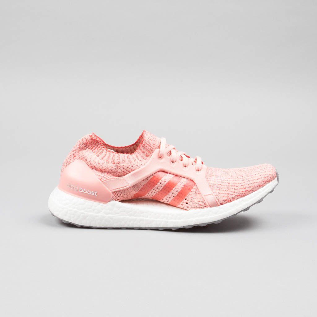 286687d85 Womens Adidas Ultra Boost X Trace Pink Tactile Red White BB3436