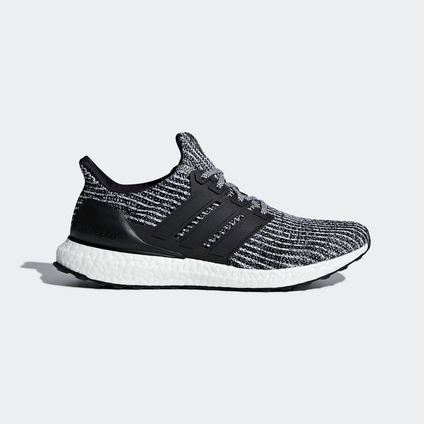 adidas UltraBOOST 4.0 Oreo Cookies And Cream Black White Men Running Shoe BB6179