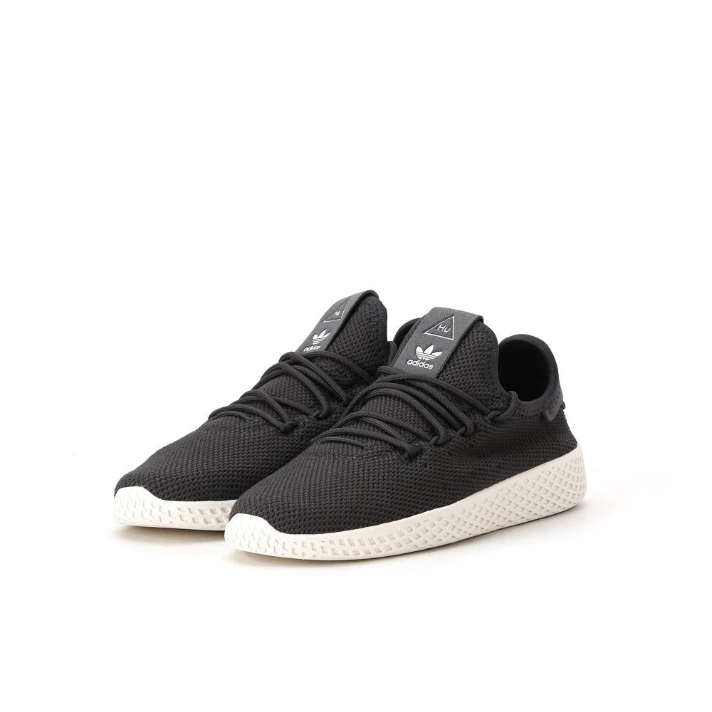 best sneakers fashion style best website Details about Kids Adidas Pharrell Williams Tennis HU PS Carbon Chalk White  BB6835