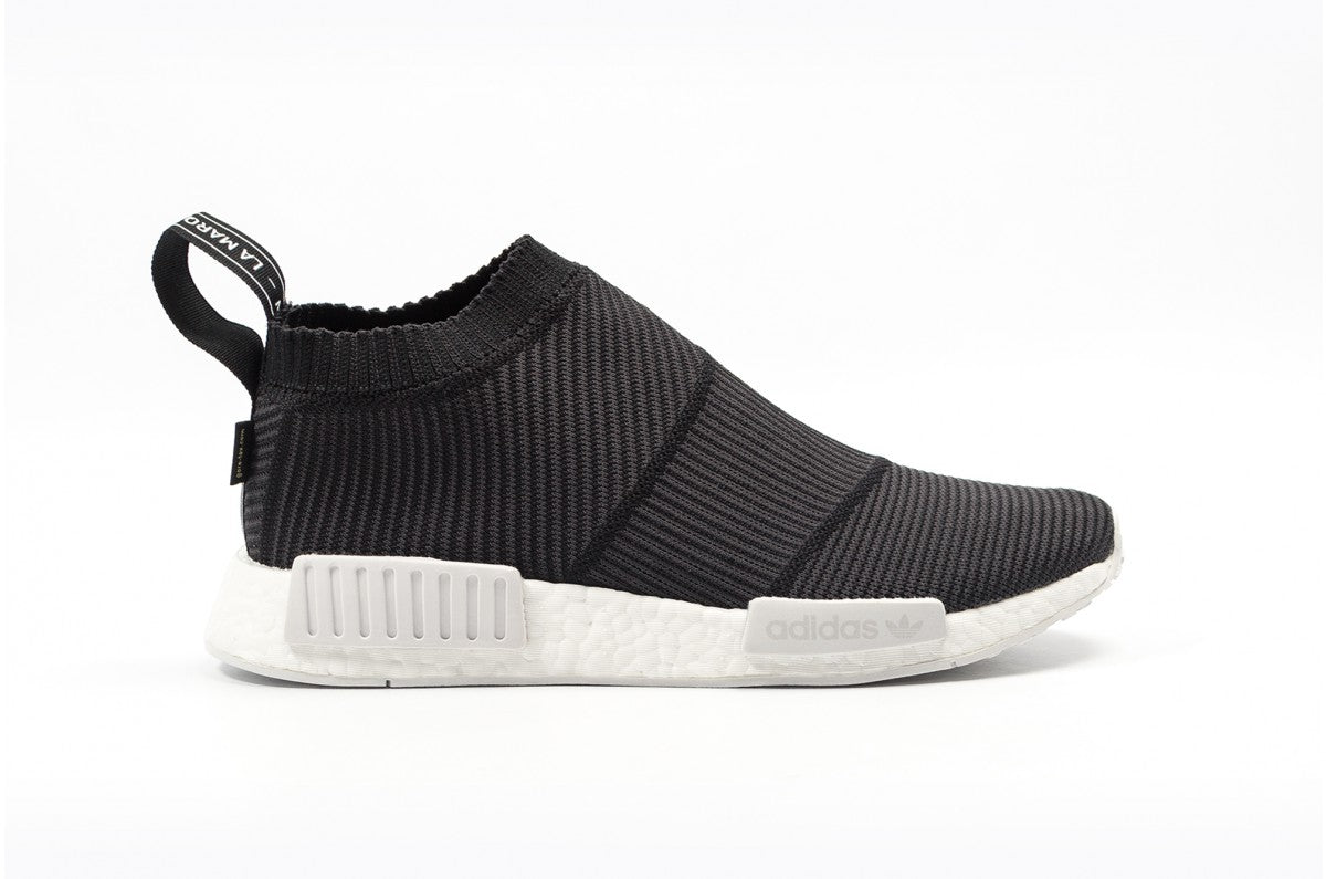 c97287f3c Mens Adidas NMD CS1 Primeknit Gore-Tex Core Black Footwear White BY9405
