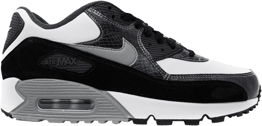 Details about Nike Air Max 90 Retro QS Python Black White Particle Grey Anthracite CD0916 100