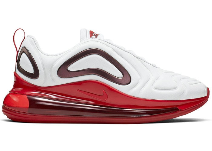 Details about Womens Nike Air Max 720 White Gym Red Hyper Crimson CD2047 100