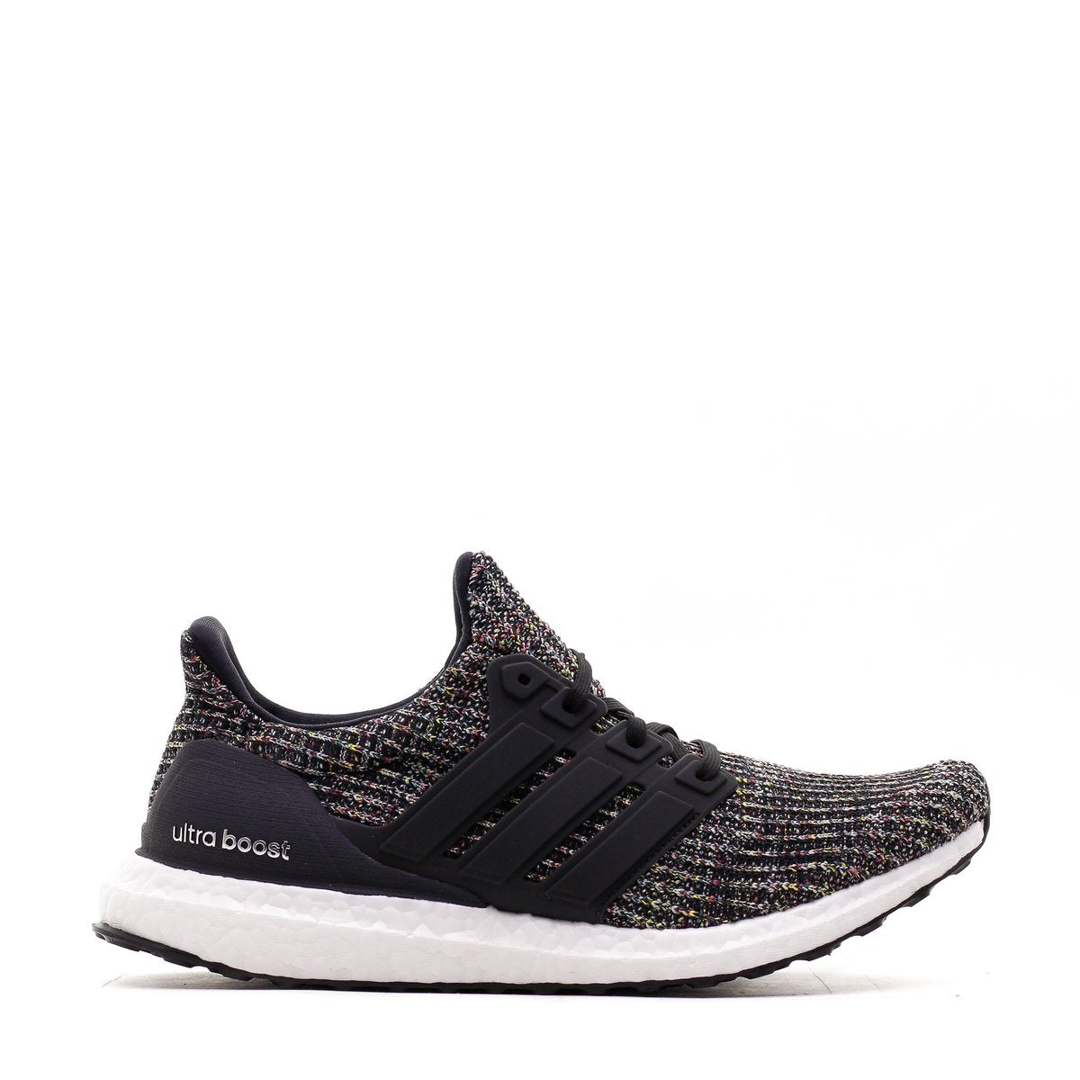 4532a8e8f Mens Adidas Ultra Boost 4.0 Core Black Carbon Ash Silver CM8110