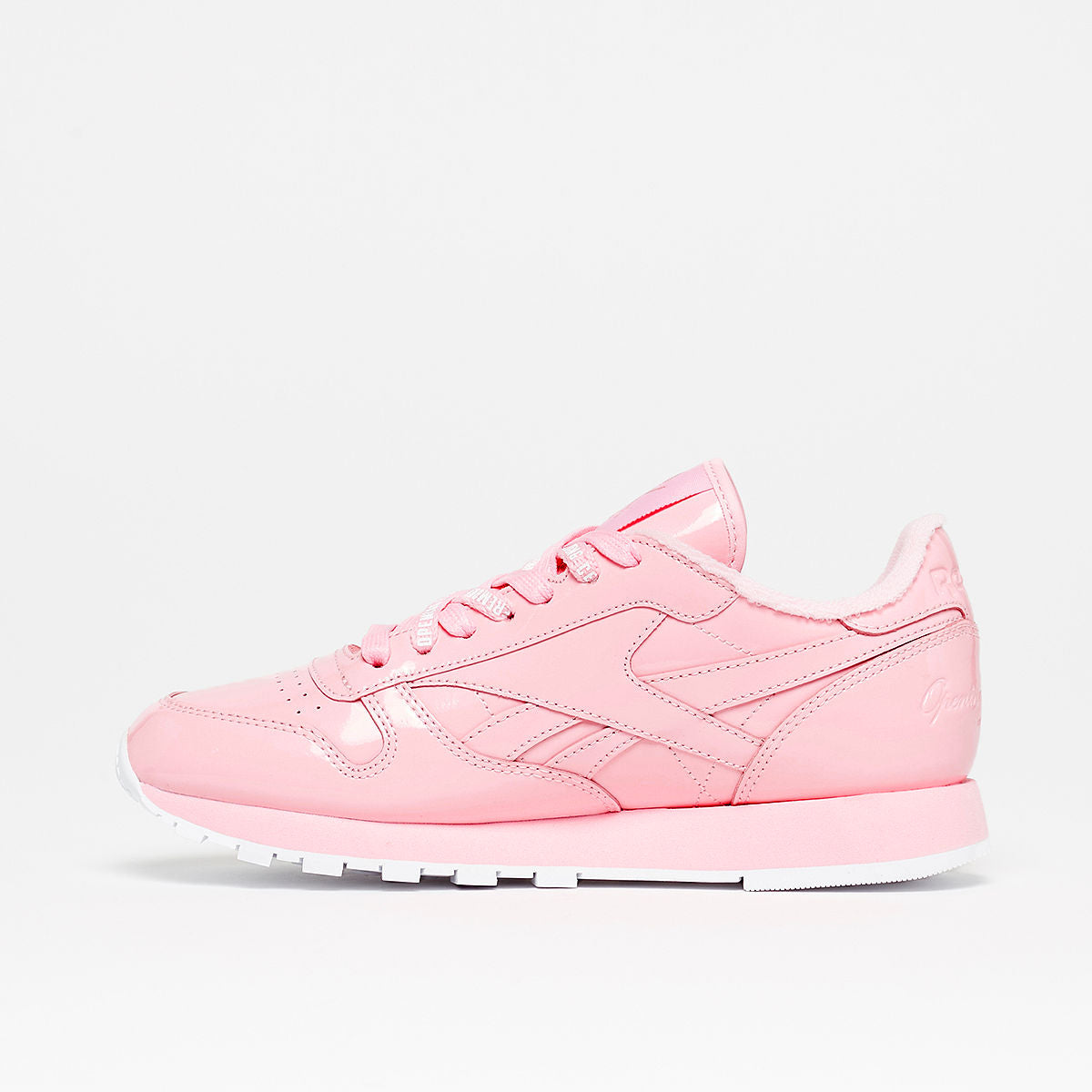 25e6c218e Details about Mens Reebok x Opening Ceremony Classic Leather OC Pink White  CN5706
