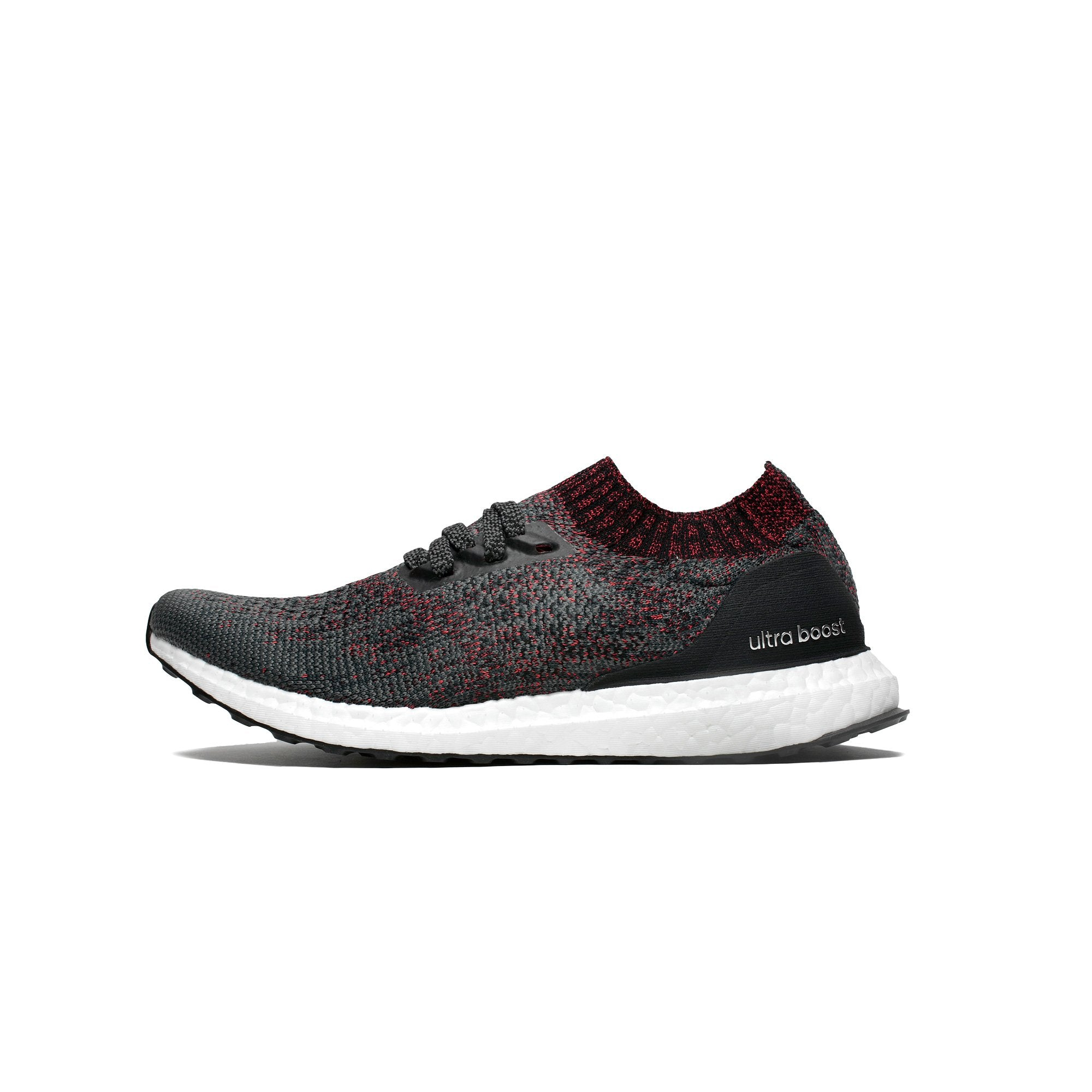 2fd62ebb14d Details about Mens Adidas Ultra Boost Uncaged Carbon Core Black Footwear  White DA9163