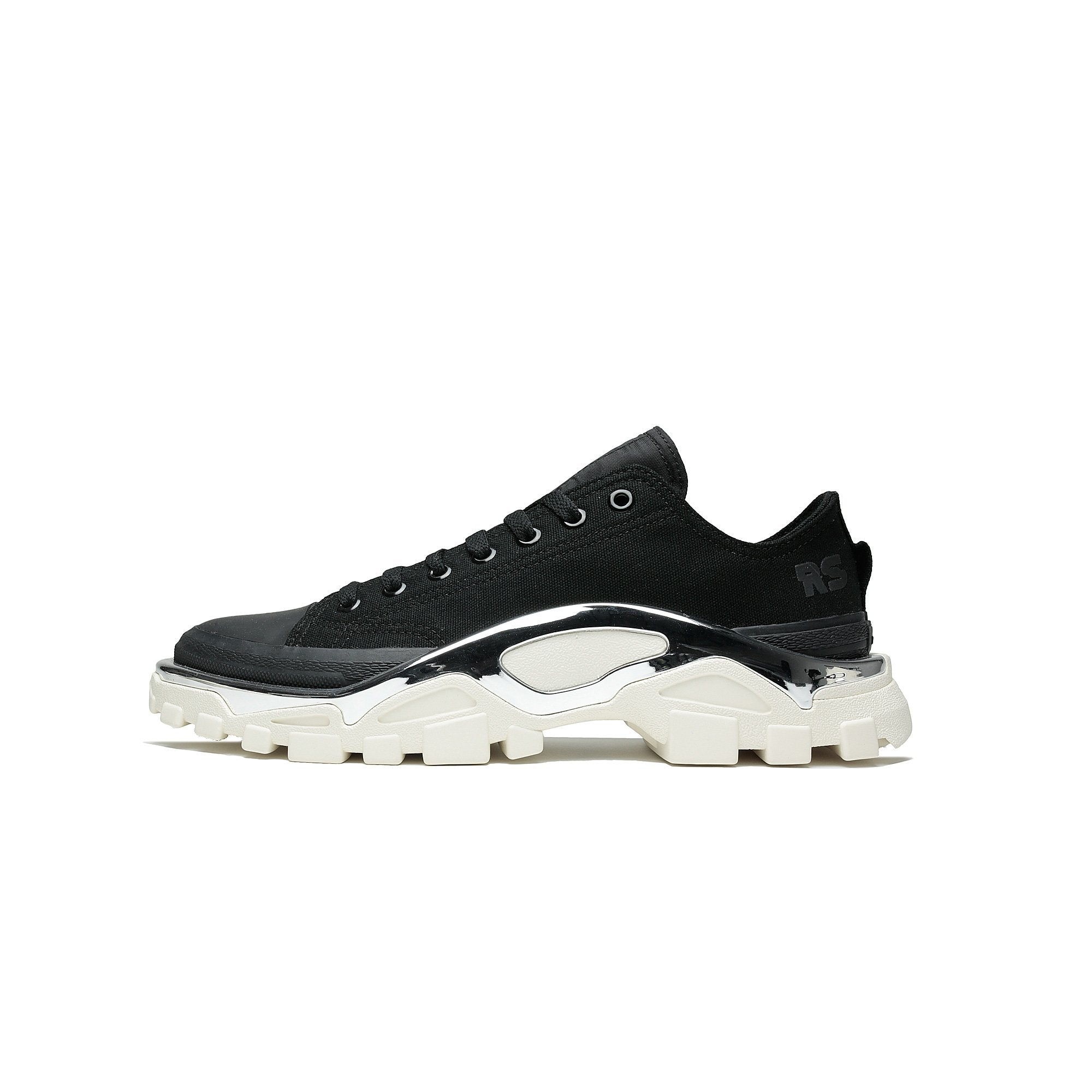 4c4870dd5750 Details about Mens Adidas x Raf Simmons Detroit Runner Oreo Core Black  Cream White F34245